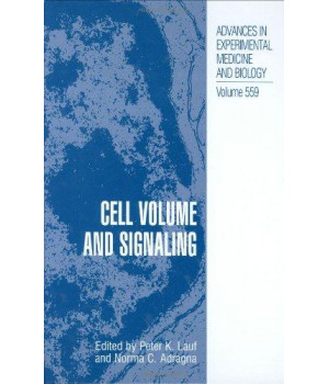 cell volume and signaling (advances in experimental medicine and biology)
