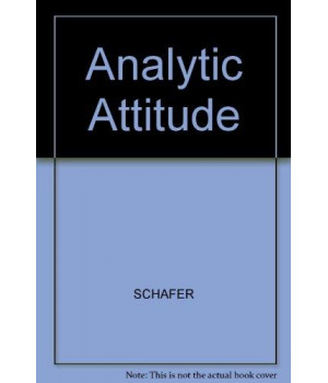 The Analytic Attitude