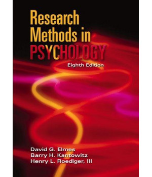 Research Methods in Psychology (Available Titles CengageNOW)