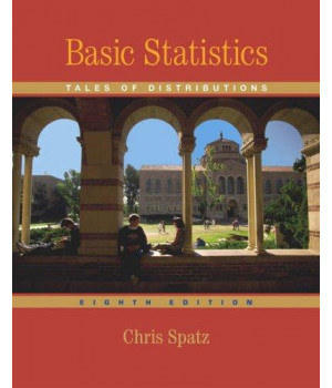 Basic Statistics: Tales of Distributions (with CD-ROM)