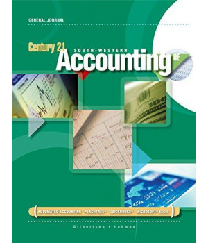 Rico Sanchez, DJ, Manual Simulation for Gilbertson/Lehman's Century 21 Accounting: General Journal, 9th
