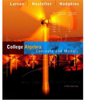 College Algebra: Concepts and Models
