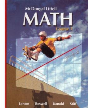 McDougal Littell Math Course 1: Student Edition 2007