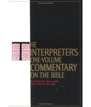 The Interpreter\'s One-Volume Commentary on the Bible