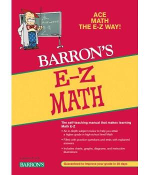 E-Z Math (Barron\'s E-Z Series)