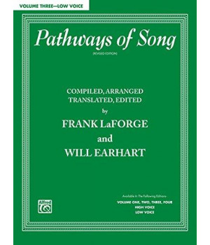 pathways of song, vol 3: low voice (pathways of song series)