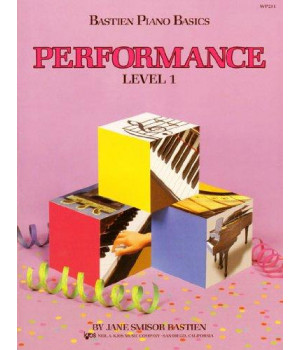 WP211 - Bastien Piano Basics - Performance Level 1
