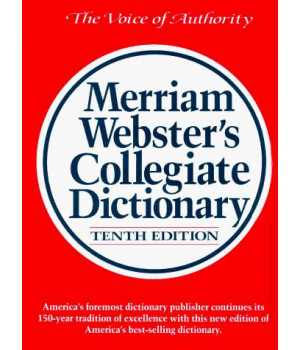 Merriam-Webster\'s Collegiate Dictionary