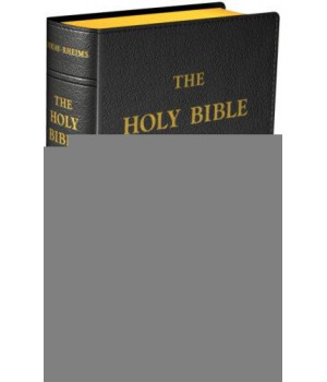 Douay-Rheims Bible {Standard size - Black Flex Cover}