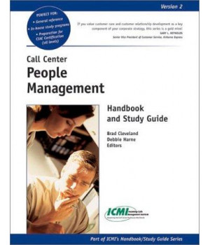 Call Center People Management Handbook and Study Guide