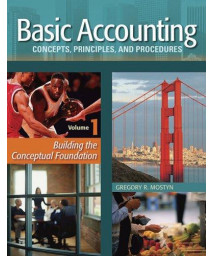 Basic Accounting Concepts, Principles and Procedures, Vol. 1