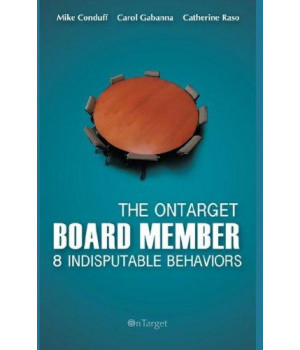 The OnTarget Board Member- 8 Indisputable Behaviors