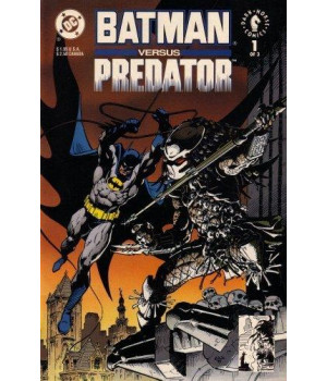 Batman Versus Predator (Vol. 1, No. 1, December 1991)