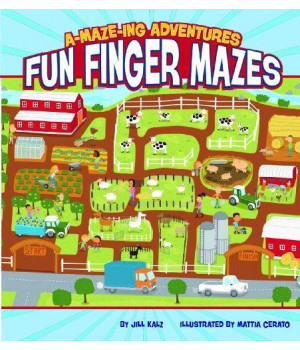 A-MAZE-ing Adventures: Fun Finger Mazes
