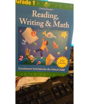 Gifted & Talented Reading, Writin & Math (Grade 1) by Flash Kids