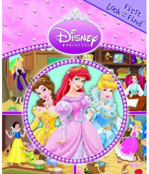 My First Look And Find Disney Princess Jewels