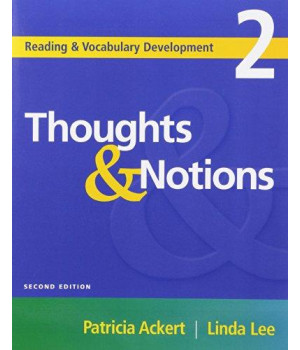 Thoughts & Notions, Second Edition (Reading & Vocabulary Development 2) (Reading & Vocabulary Development Series)