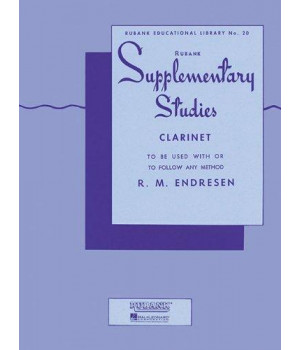 Supplementary Studies: Clarinet (Rubank Educational Library No. 20)