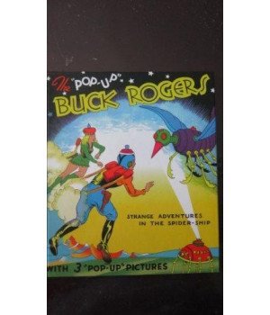The Pop-Up Buck Rogers: Strange Adventures in the Spider-Ship