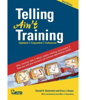 Telling Ain\'t Training