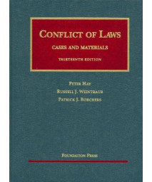Conflict of Laws, Cases and Materials (University Casebooks) (University Casebook Series)