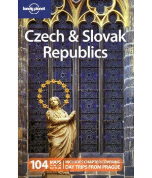 lonely planet czech & slovak republics (travel guide)