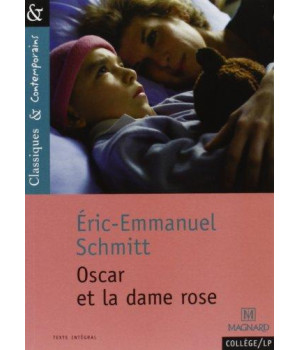 Oscar Et La Dame Rose (French Edition)