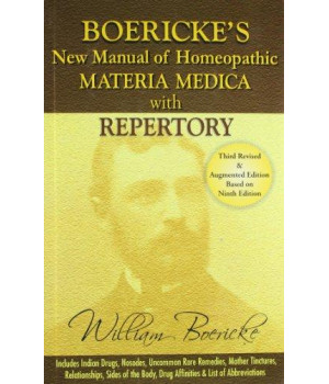 Boericke\'s New Manual of Homeopathic Materia Medica with Repertory