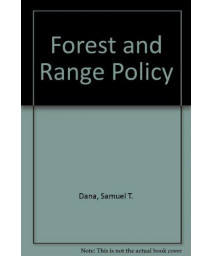 Forest and Range Policy (McGraw-Hill Series in Forest Resources) (J. Ranade IBM Series)