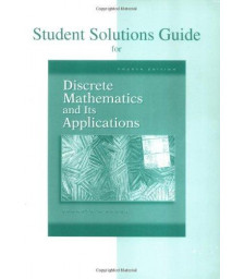 Student Solutions Guide for Discrete Mathematics and Its Applications