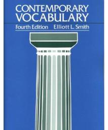Contemporary Vocabulary