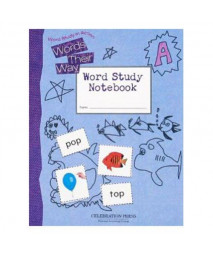 WORDS THEIR WAY LEVEL A STUDENT NOTEBOOK 2005C