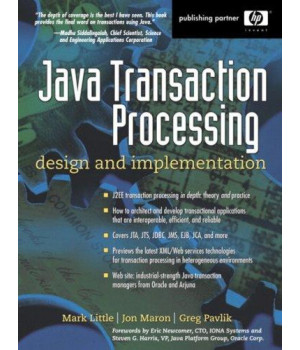 Java Transaction Processing: Design and Implementation
