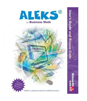 ALEKS Bus Math Access Card and User\'s Guide - 1 sem Standalone