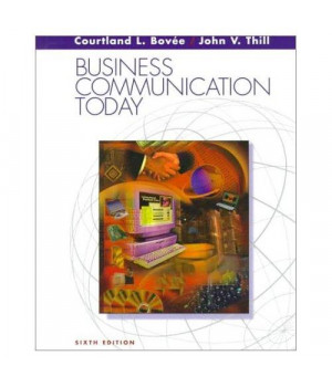 Business Communication Today (6th Edition)