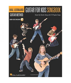 Guitar for Kids Songbook - Hal Leonard Guitar Method (Bk/online audio)