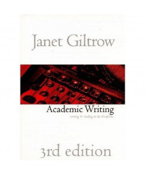 Academic Writing: Writing and Reading Across the Disciplines, 3rd Edition