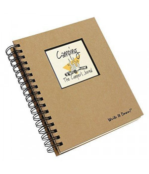 Camping, The Camper\'s Journal (Natural Brown) (Write It Down)