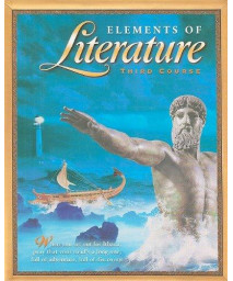 Elements of Literature, Third Course      (Hardcover)