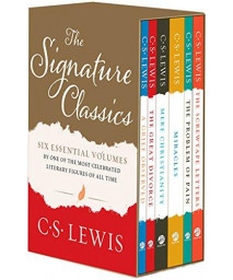 C. S. Lewis Signature Classics: Mere Christianity, The Screwtape Letters, A Grief Observed, The Problem of Pain, Miracles, and The Great Divorce (Boxed Set)      (Paperback)