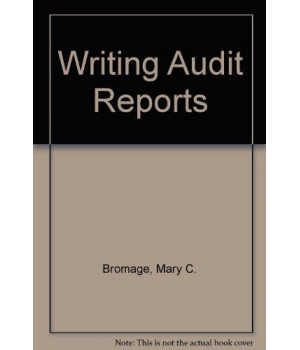 Writing Audit Reports      (Hardcover)