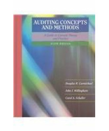 Auditing Concepts and Methods: A Guide to Current Theory and Practice      (Hardcover)