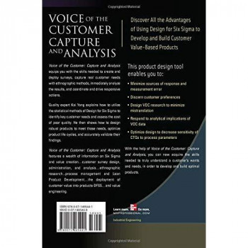 Voice of the Customer: Capture and Analysis (Six Sigma Operational Methods)