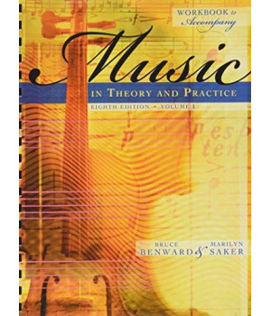 Workbook t/a Music in Theory and Practice, Volume I      (Spiral-bound)