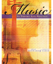 Music in Theory and Practice, Volume 2 with Audio CD      (Spiral-bound)