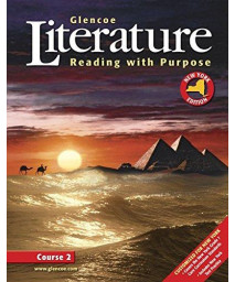 Glencoe Literature: Reading with Purpose, Course Two, New York Student Edition      (Hardcover)