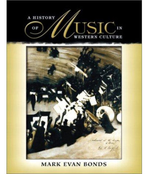 A History of Music in Western Culture      (Hardcover)