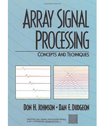 Array Signal Processing: Concepts and Techniques      (Paperback)