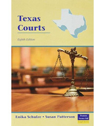 Texas Courts (8th Edition)      (Paperback)