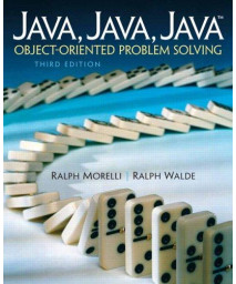 Java, Java, Java, Object-Oriented Problem Solving (3rd Edition)      (Paperback)